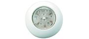 Enkel 12v LED påbyningslampe med trykkontakt