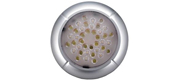 SMD LED 12/24v LED loftslampe i silver look