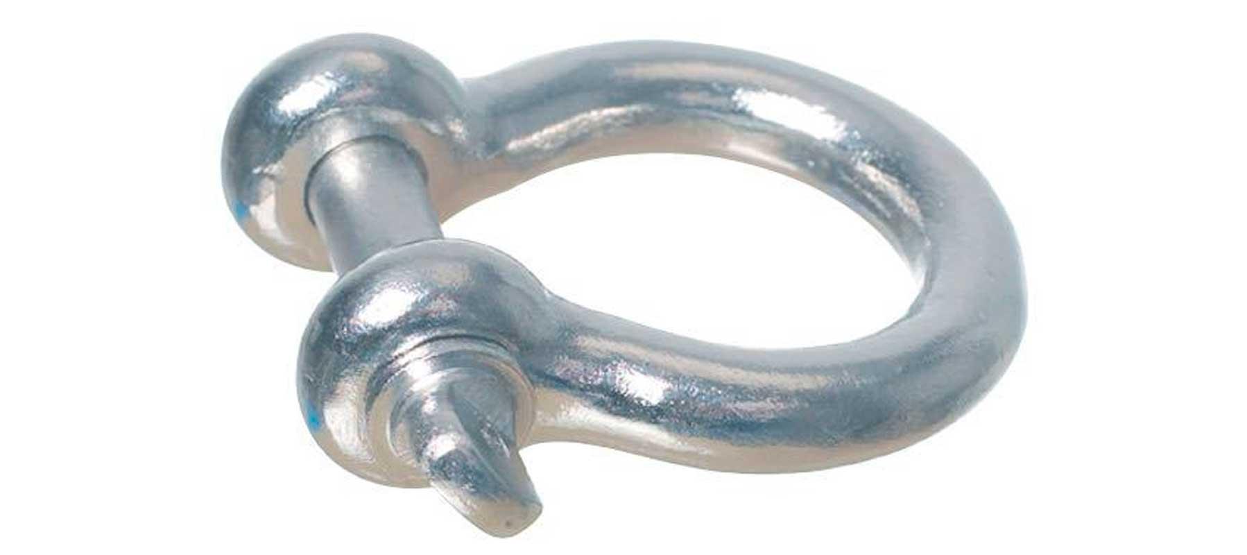 Lyresjækel rustfrit stål 4 mm.