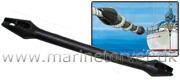 Fortøjningsfjeder 44 cm. tov 6-12 mm.