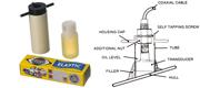 Sæt til invendig montering af Nasa transducer