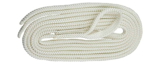 Polyropes 7 mm fenderline 1,7 meter - 2 stk.