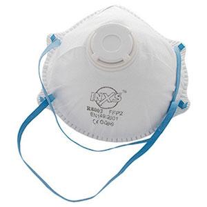 QPT beskyttelsesmaske Super med ventil 2 stk.