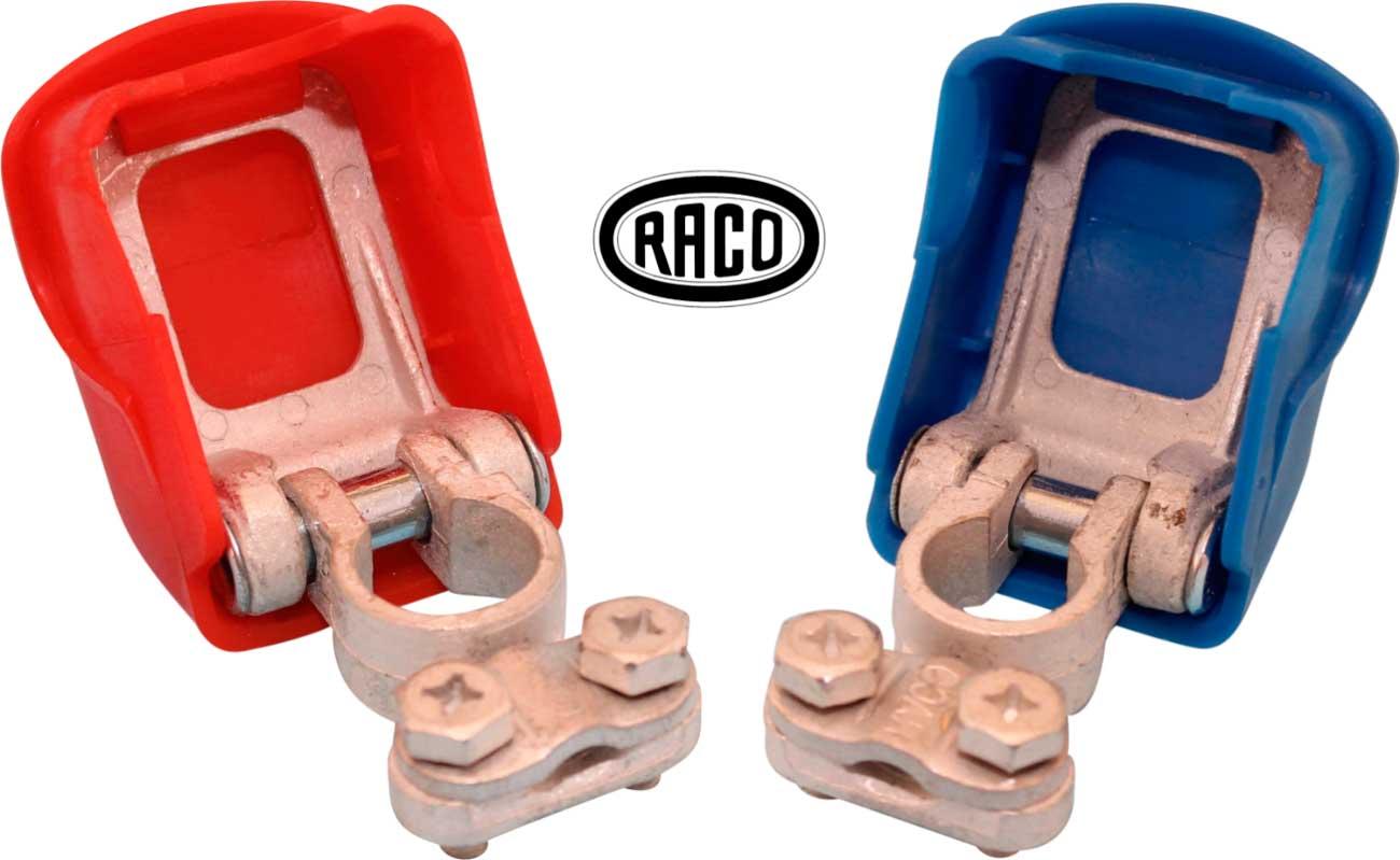 Raco Snap Release batteripolsko m. dæksel
