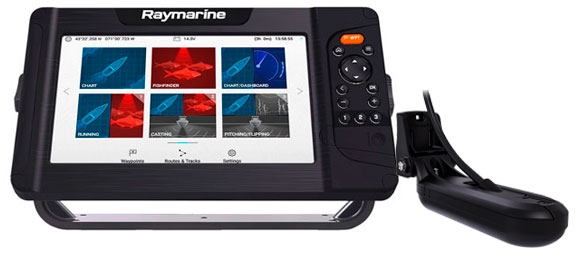 Raymarine Element 9 HV med HV100 transducer