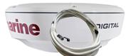 Raymarine RD418D 4W digital radome med 10m kabel