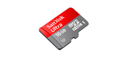 SanDisk Micro Ultra mobile 16GB med SD adapter