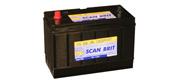DanBrit start-/forbrugsbatteri 115 Ah