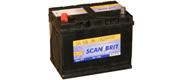 DanBrit forbrugsbatteri 75 Ah
