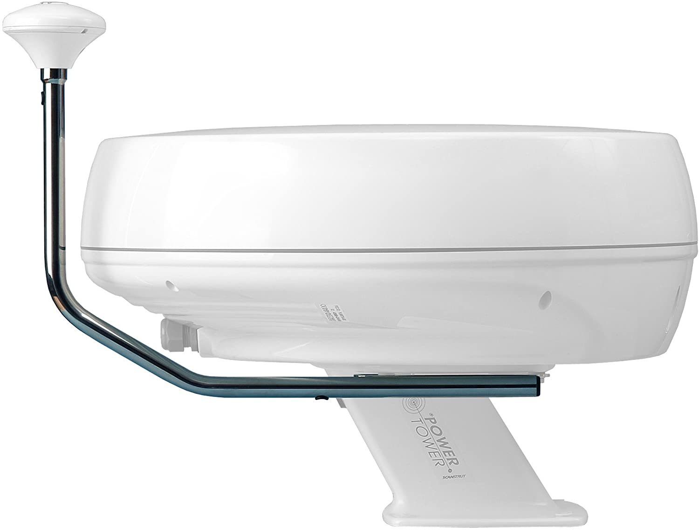 Scanstrut SC111 rustfri GPS, VHF, Navtex mount