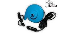 SeaPump Elektrisk luftpumpe, 12V, 400 l