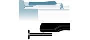 Simrad CB1 Sidemonteringsbeslag
