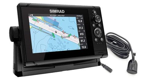 Simrad cruise 7″ med 83/200 hæktransducer