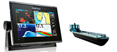Simrad GO9 XSE inkl. TotalScan-transducer