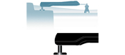 Simrad PB30 Pedestal 30mm