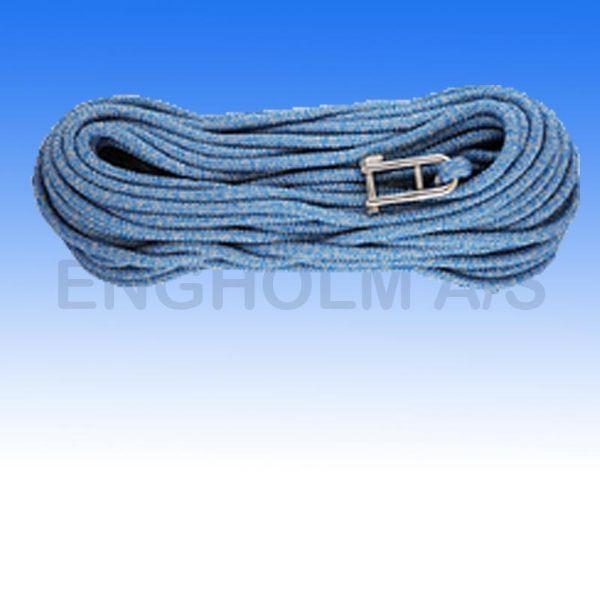 Robline sirius 500 blå/sølv 12mm 40m m.sjækel