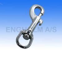 Karabinhage rustfri m/svirvel type S225