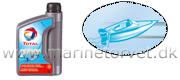 Total Motorolie NEPTUNA 2-takt SUPER SPORT 1 liter