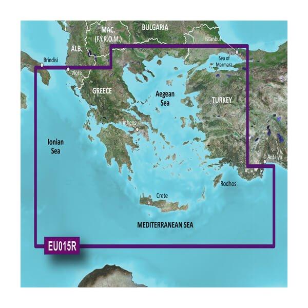 BlueChart® g3 HXEU015R - Aegean Sea & Sea of Marma