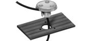 VHF kabels gennemføring nylon til 1-2 kabler