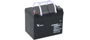 AGM batteri Vision 33 Ah