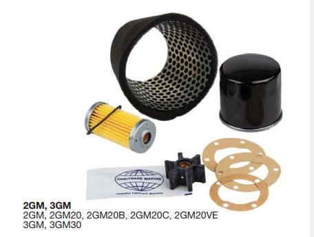 YANMAR Motor Servicesæt, 2GM 3GM